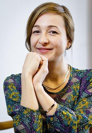 Bytová designérka Zuzana Wiesnerová.