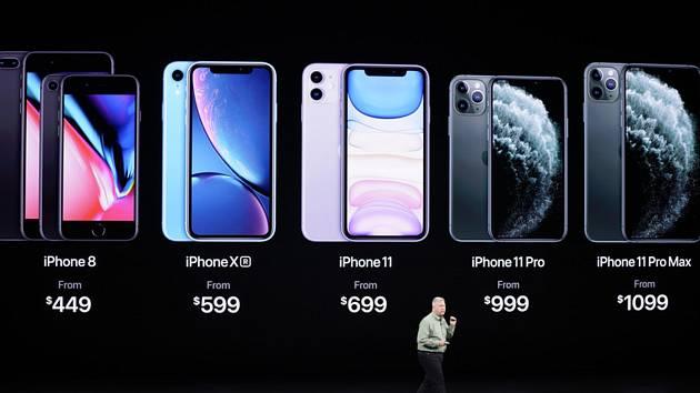 Prezentace telefonu iPhone 11