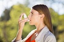 Astma. Ilustrační foto.
