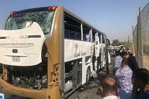 Útok na autobus v egyptské Káhiře