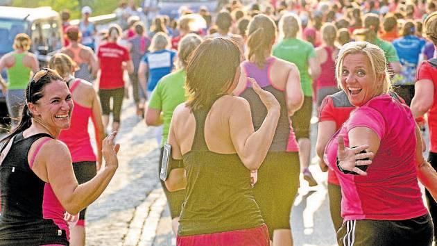RADOST Z POHYBU. K běhání nachází cestu stále víc dříve nesportujících žen.