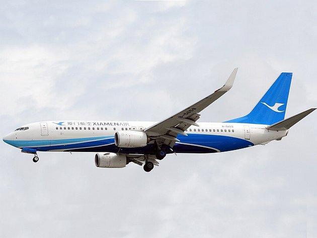 Boeing 737-800 Xiamen Airlines.