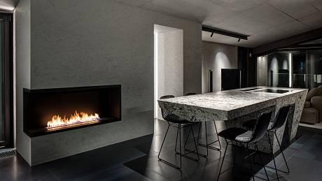 Ve Vokovicích architekti dostali příležitost dát průchod jejich vášni pro výrazně prokreslené přírodních materiálů, jednoduchých tvarů a zajímavých technických prvků.