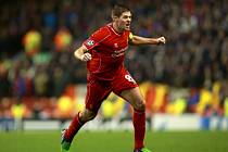 Ikona Liverpoolu Steven Gerrard.