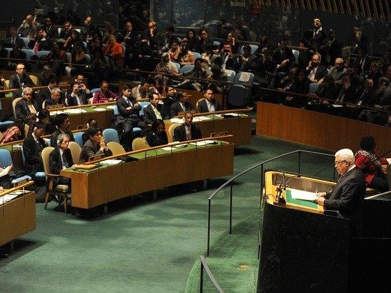 Většina členských zemí OSN nepřímo uznala palestinský stát