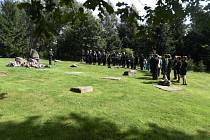 Vzpomínková akce k uctění obětí romského holokaustu a romského koncentračního tábora Lety se uskutečnila 2. srpna 2016 v Letech u Písku
