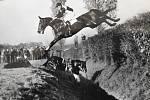 Lata Brandisová na svém posledním závodním koni Othello