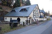 Důl v německém Zinnwaldu: vstupní budova