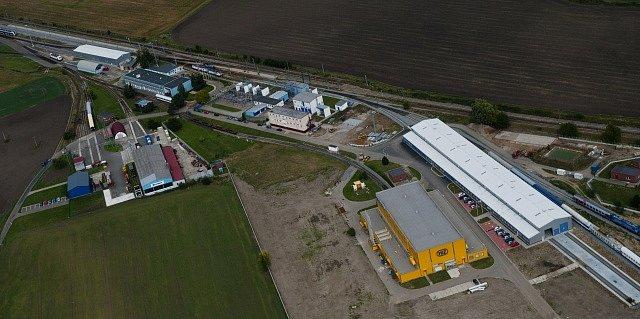 Zkušební centrum Výzkumného Ústavu Železničního (VUZ) ve Velimi u Kolína
