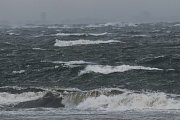 Bouři provázel vítr o rychlosti 140 km/h