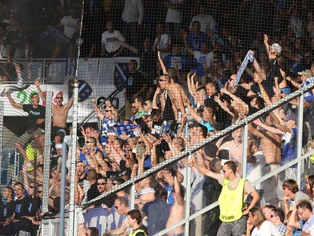 V Plzni se museli vypořádat i s fanoušky Željezničaru Sarajevo.