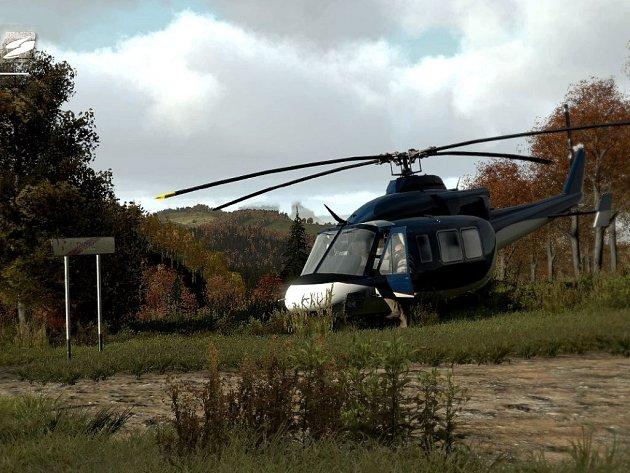 Počítačová hra Take on Helicopter.