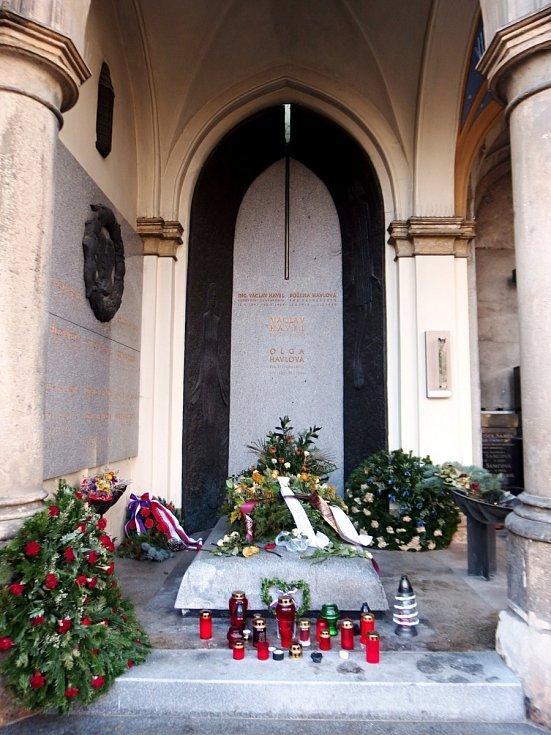 Hrob Václava Havla