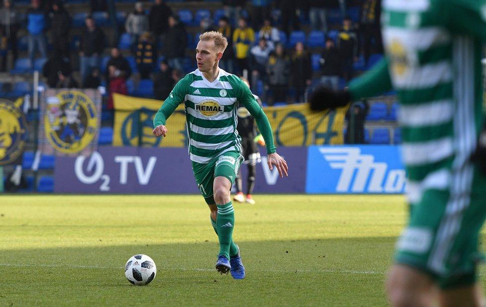 Fotbalista Bohemians Lukáš Pokorný.