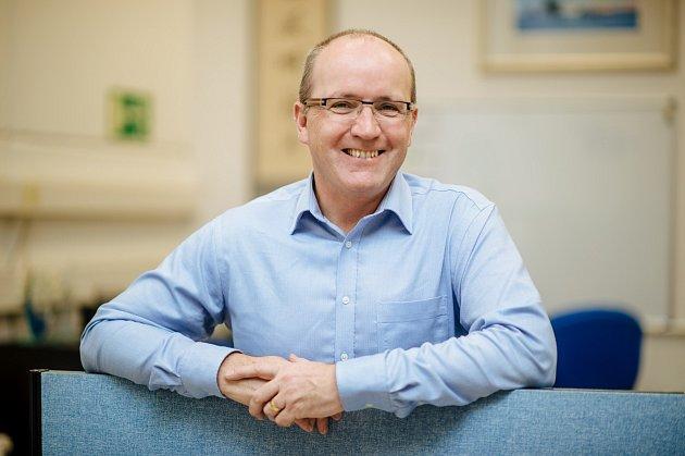 JIM DARROCH, , viceprezident společnosti Foxconn European Manufacturing Services, s.r.o.