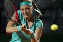 Petra Kvitová na turnaji v Římě