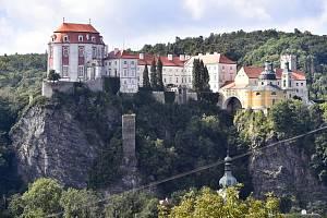 Zámek ve Vranově nad Dyjí na Znojemsku (na snímku z 25. srpna 2021)