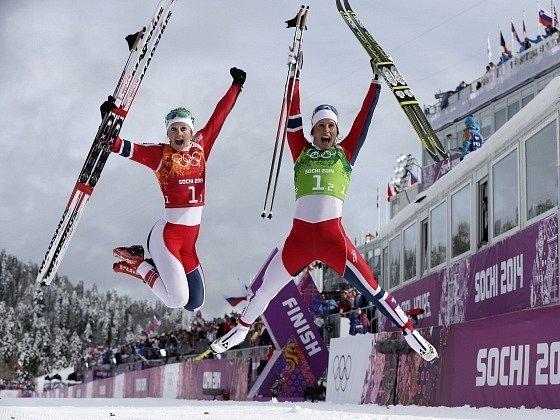 Norské lyžařky si dojely pro zlato