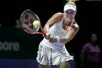 Němka Angelique Kerberová má první výhru, porazila Slovenku Dominiku Cibulkovou.