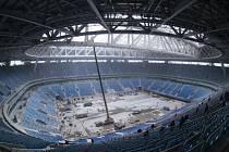 Výstavba stadionu v Petrohradu spolkla více než 16 miliard korun.