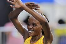 Vítězka běh v Sao Paulu Jemima Sumgongová.