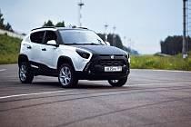 Prototyp ruského elektromobilu ë-mobil.