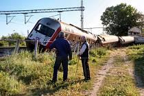 Zaměstnanci řeckých železnic protestují i proti zastaralé infrastruktuře.