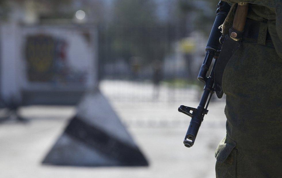 Ruský voják - ilustrační foto.