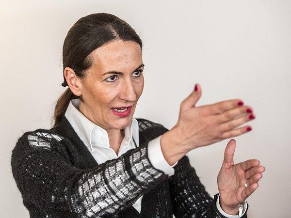 1. místopředsedkyně ODS Alexandra Udženija poskytla 19.ledna vPraze rozhovor Deníku.