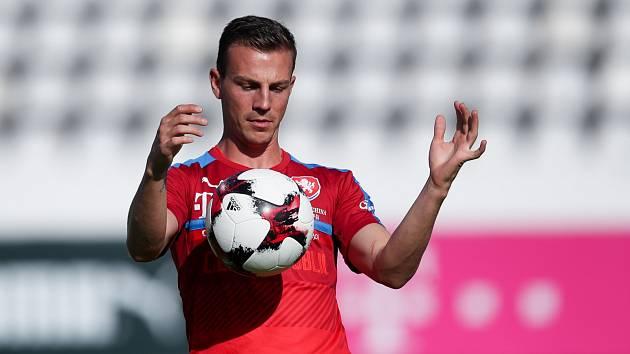 Hvězda reprezentace Vladimír Darida.