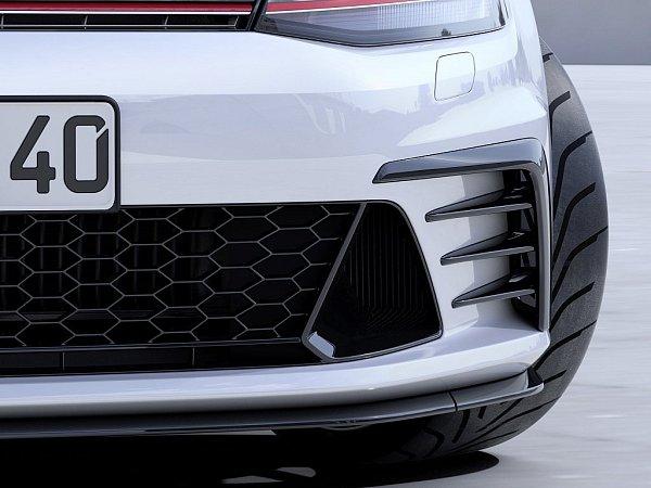 Koncept Volkswagen Golf GTI Clubsport.