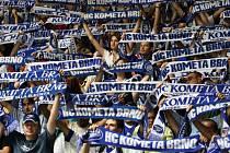 Brněnští fanoušci svoji Kometu milují.