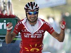 David Moncoutie, vítěz královské etapy na Vueltě.