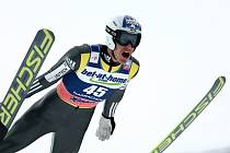 Jan Matura(na snímku) v odpolední závodě druhý.