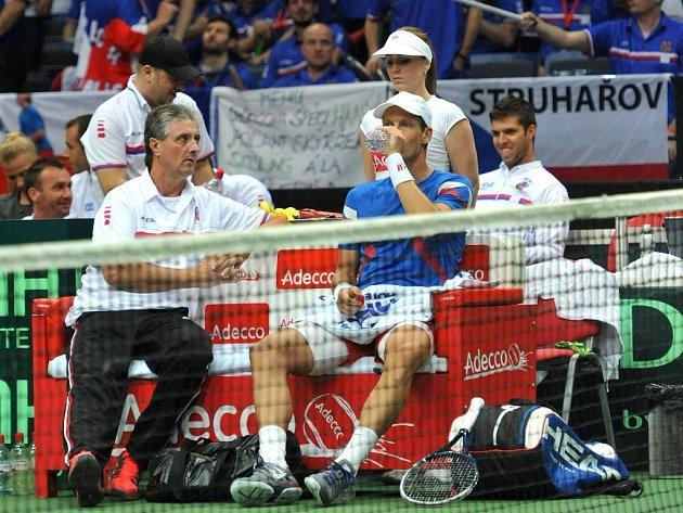 Jaroslav Navrátil v diskusi s Tomášem Berdychem