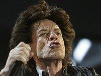 Mick Jagger na vystoupení v belgickém Werchteru