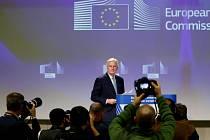 Vyjednavač EU pro brexit Michel Barnier