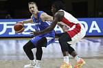 Kvalifikace basketbalistů o postup na olympijské hry v Tokiu, utkání ČR - Kanada
