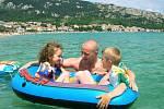 Podle zástupců cestovních kanceláří postupně stoupá zájem o pobyty právě v tradičních destinacích jako je Chorvatsko, Španělsko a Řecko. Ilustrační foto
