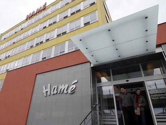 Sídlo konzervárenské firmy Hamé v Kunovicích na Uherskohradišťsku