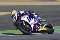 Karel Abraham v tréninku na GP Francie.