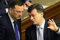 Petr Nečas a Pavel Blažek