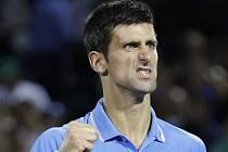 Novak Djokovič v semifinále turnaje v Miami.