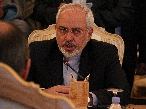 Íránský ministr zahraničí Muhammad Džavád Zaríf.