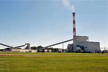Dosluhující uhelná elektrárna Erickson v americkém městě Lansing