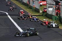 Velká cena Austrálie: Nico Rosberg