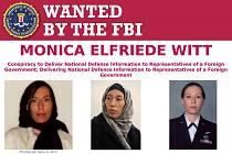 Důstojnice amerického letectva Monica Wittová měla donášet Teheránu
