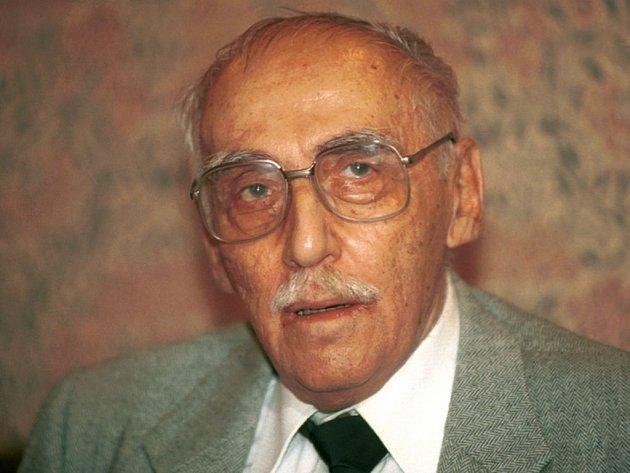 Miloš Kopecký, od jehož narození uplyne ve středu devadesát let