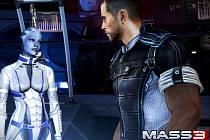 Počítačová hra Mass Effect 3.