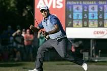 Golfista Fabián Gómez.